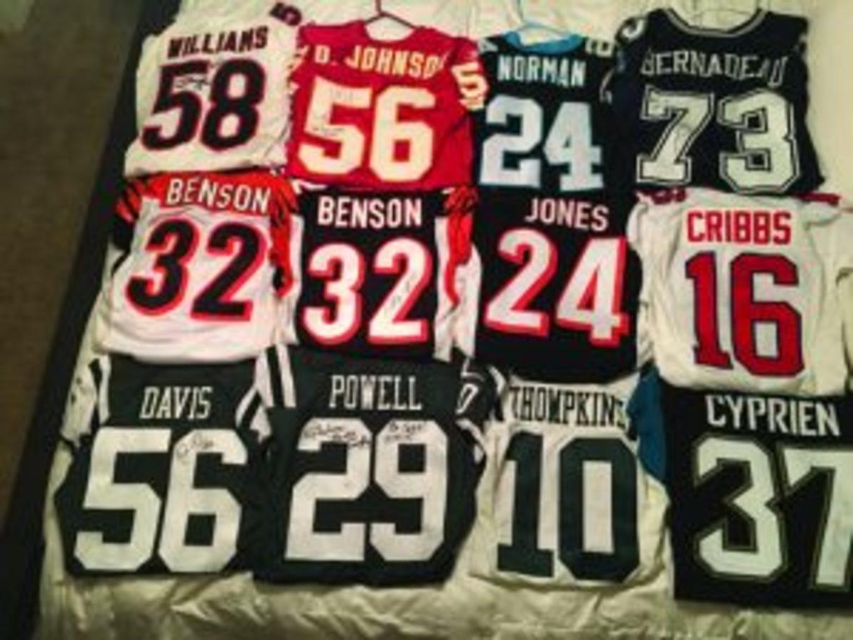 Pro NFL jerseys