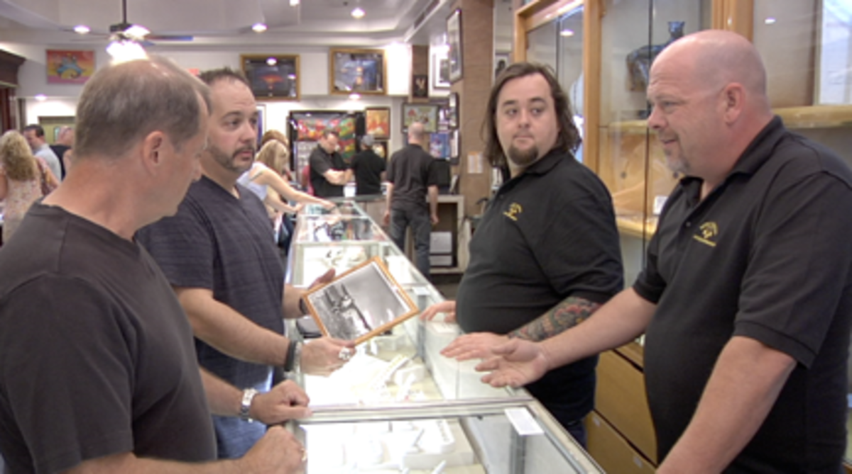 Steve Grad with Chumlee and Rick
