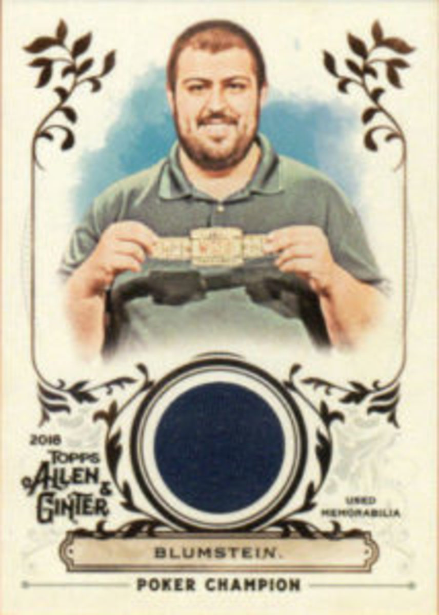 Scott Blumstein also had a Relic card featuring memorabilia included in 2018 Topps Allen & Ginter Baseball.