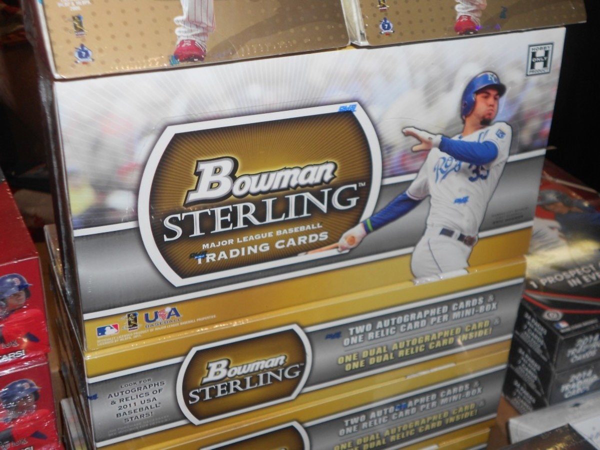 Newer unopened material maintains a steady following among young pack breakers looking for a high-dollar pull. Any product potentially containing rookie cards of Mike Trout, Bryce Harper, Kris Bryant, LeBron James or Aaron Rodgers is especially popular.