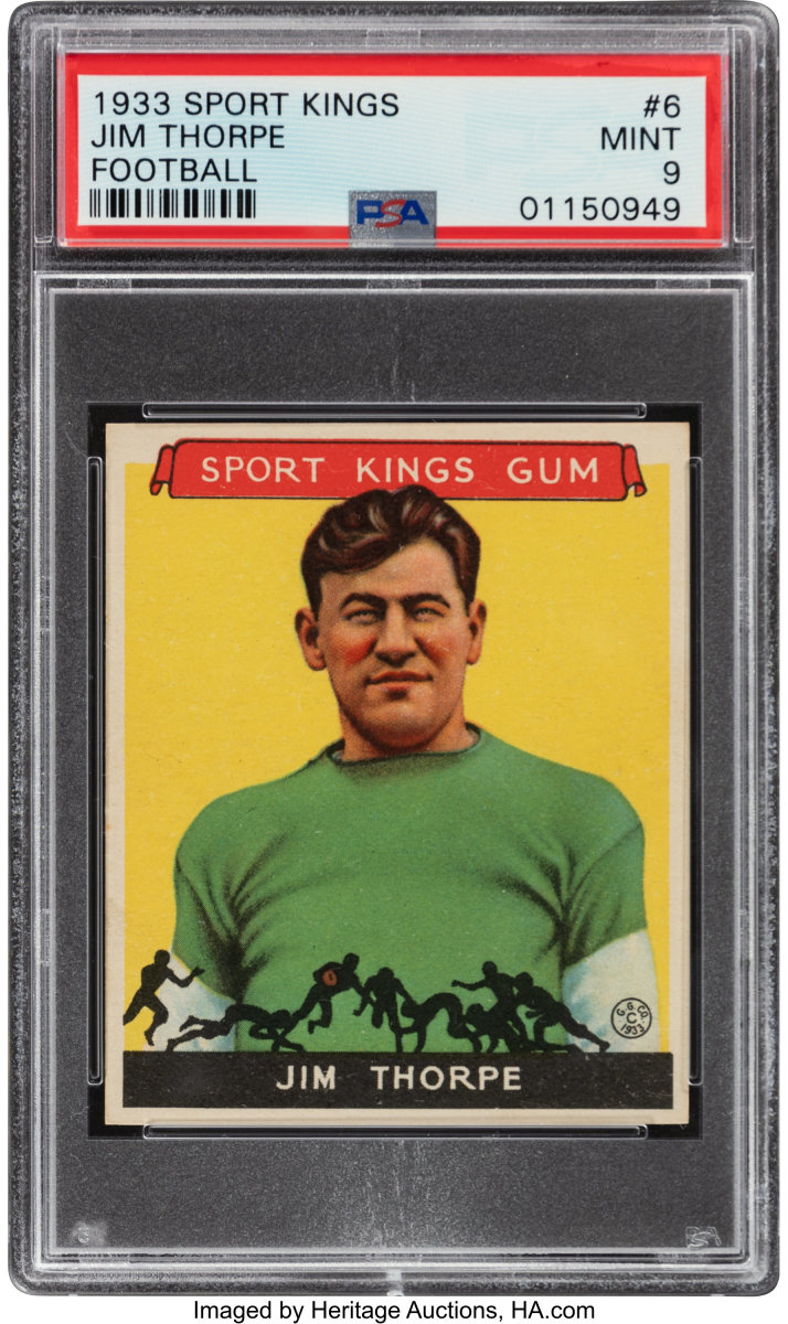 1933_Sport_Kings_Jim_Thorpe_6_PSA_Mint_9_Heritage_Auctions