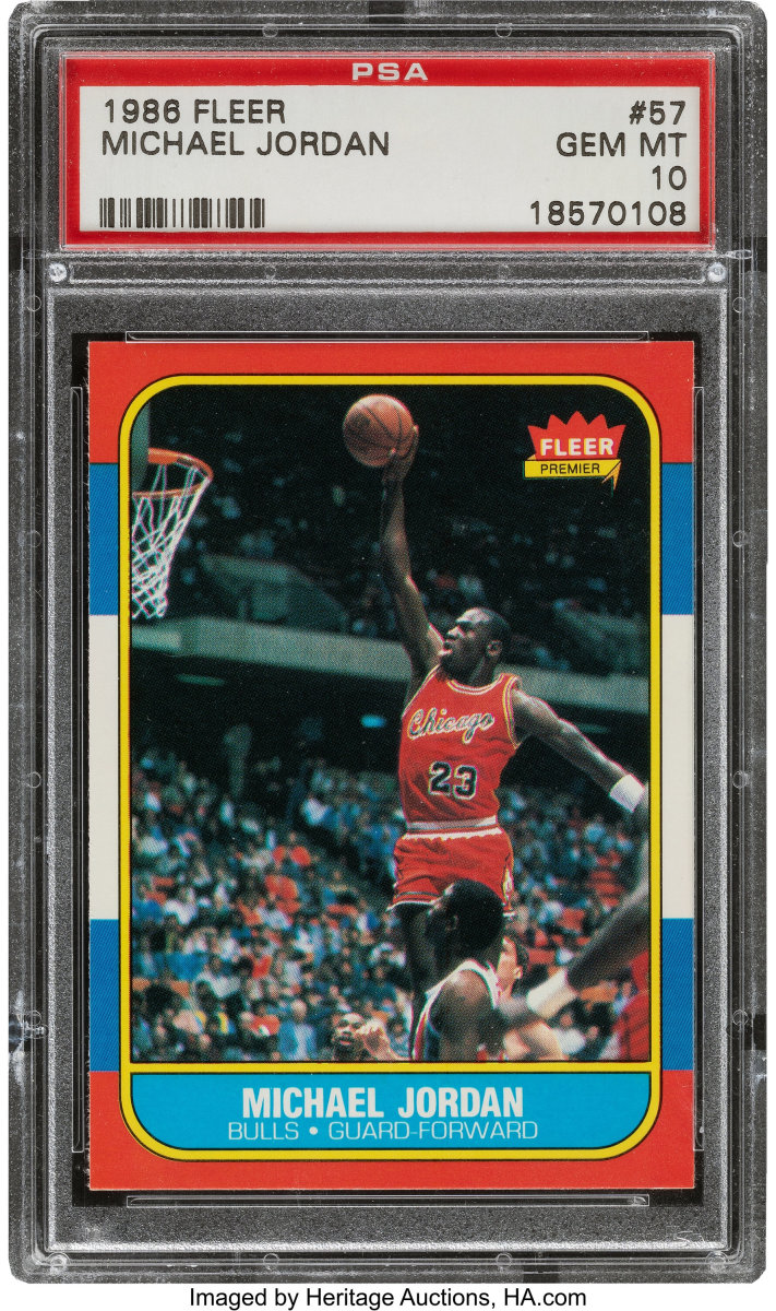 1986_Fleer_Michael_Jordan_57_PSA_Gem_Mint_10_Heritage_Auctions