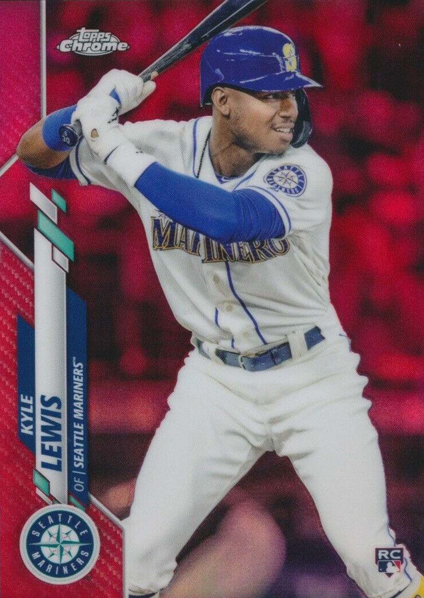 2B—oa-2020-topps-red-kyle-lewis
