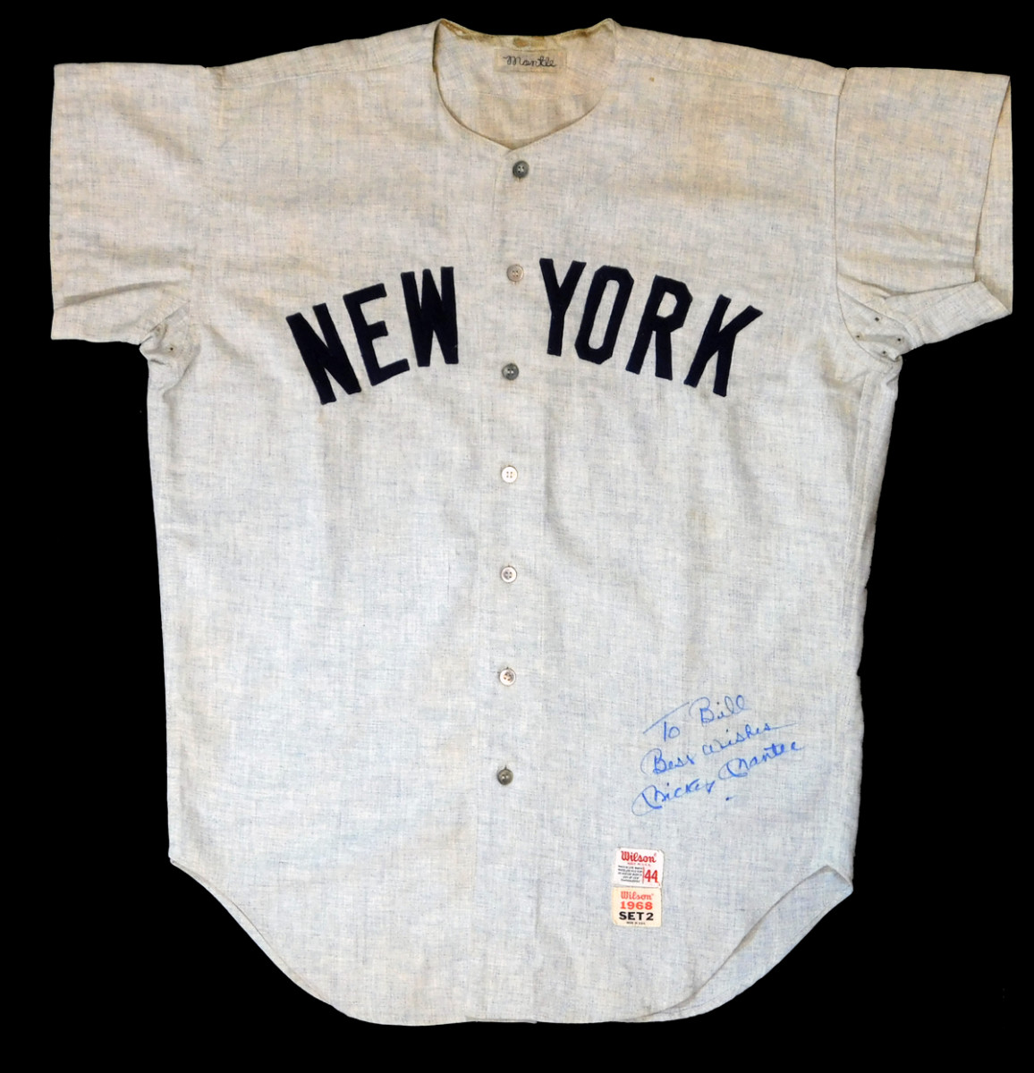 mantle jersey