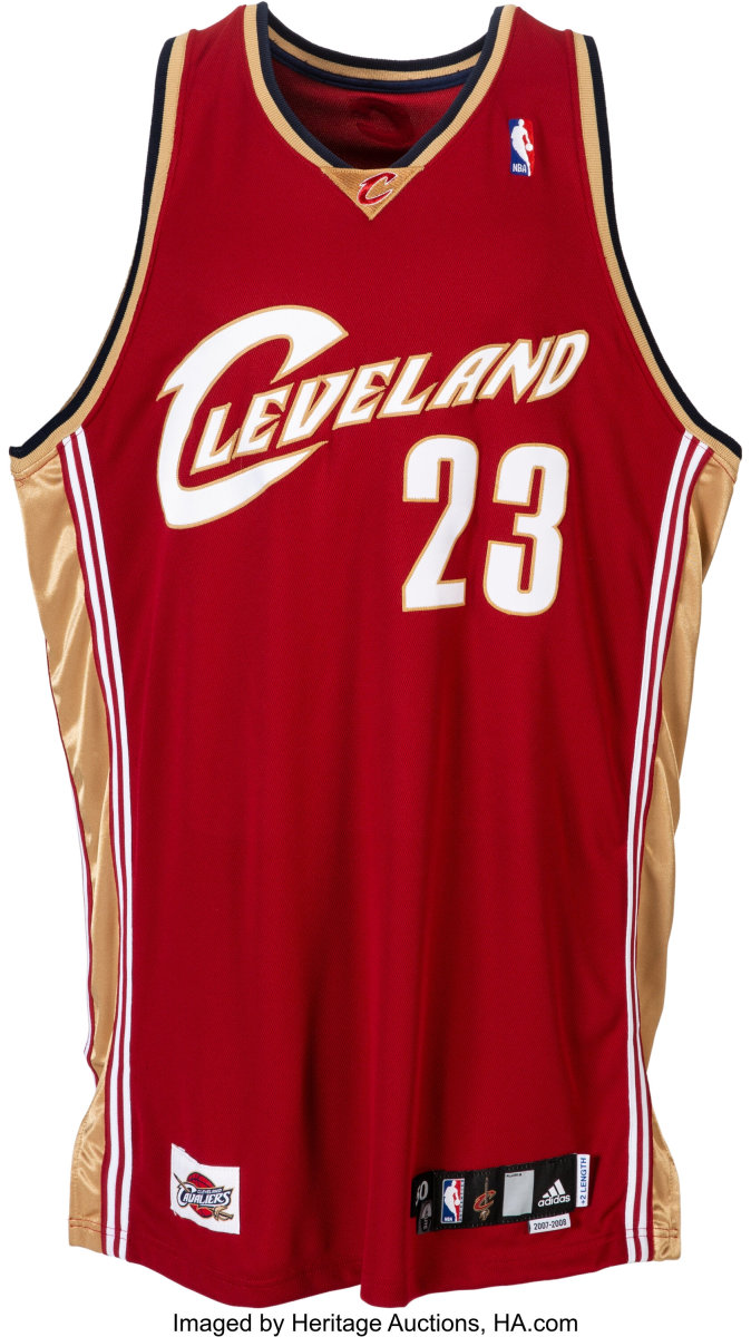 2007-08 LeBron James Game Worn Signed Cleveland Cavaliers Jersey Gifted to Teammate_Heritage_Auctions
