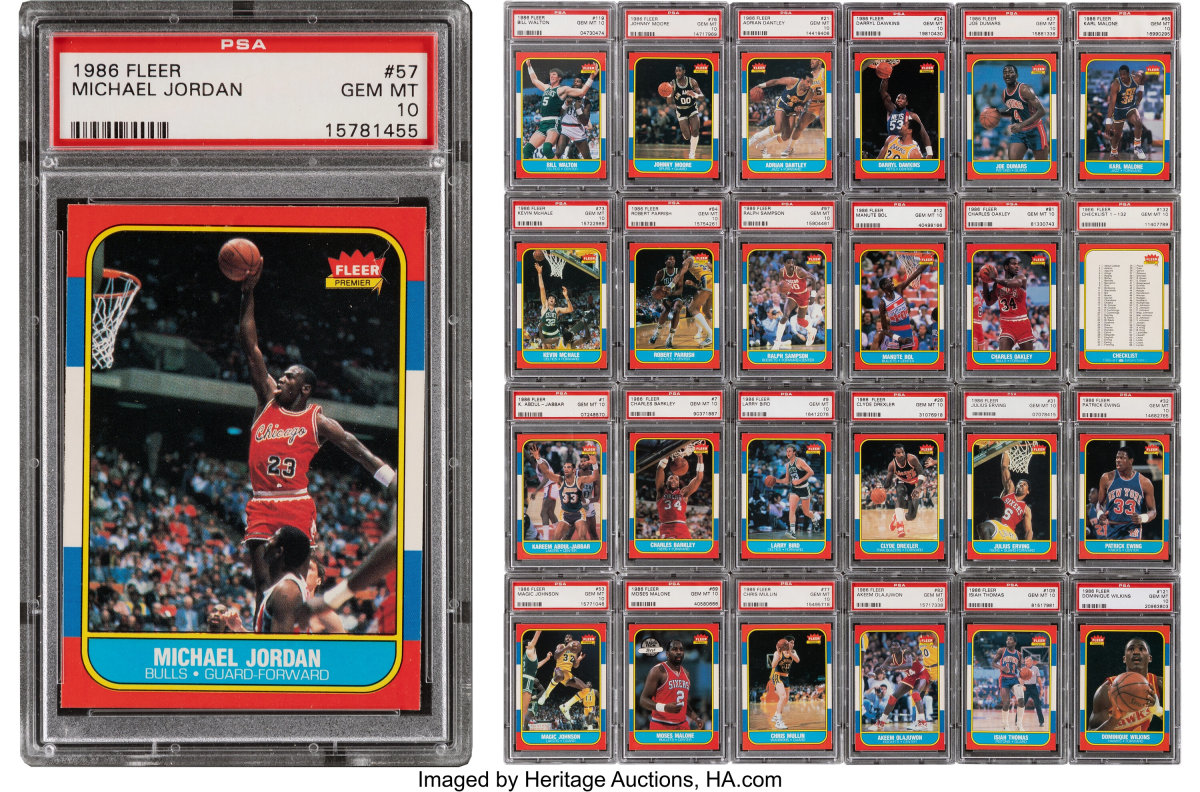 1986 Fleer Basketball Complete Set 132_Heritage_Auctions