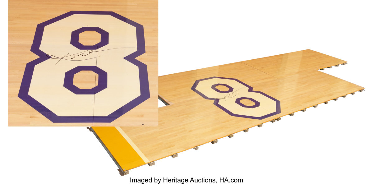 2016_Kobe_Bryant_Number_8_Staples_Center_Hardwood_Heritage_Auctions