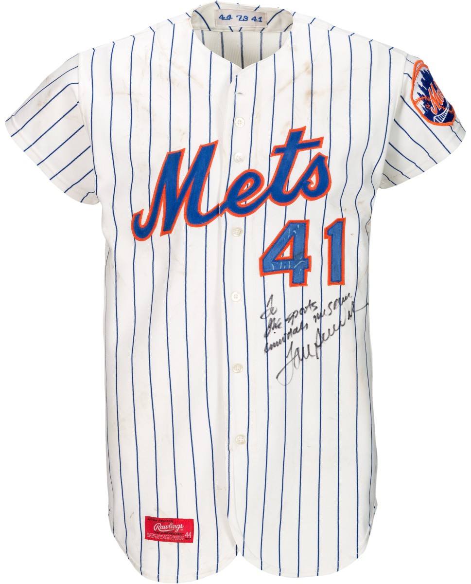 Game-worn jersey sold at Heritage Auctions for $66,000