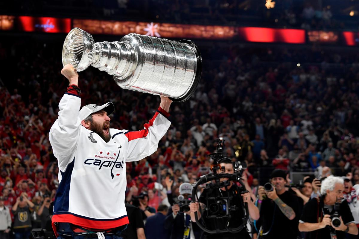 Alex Ovechkin, Capitals, No. 1 pick, 2004  Photo: Jeff Bottari/NHLI via Getty Images