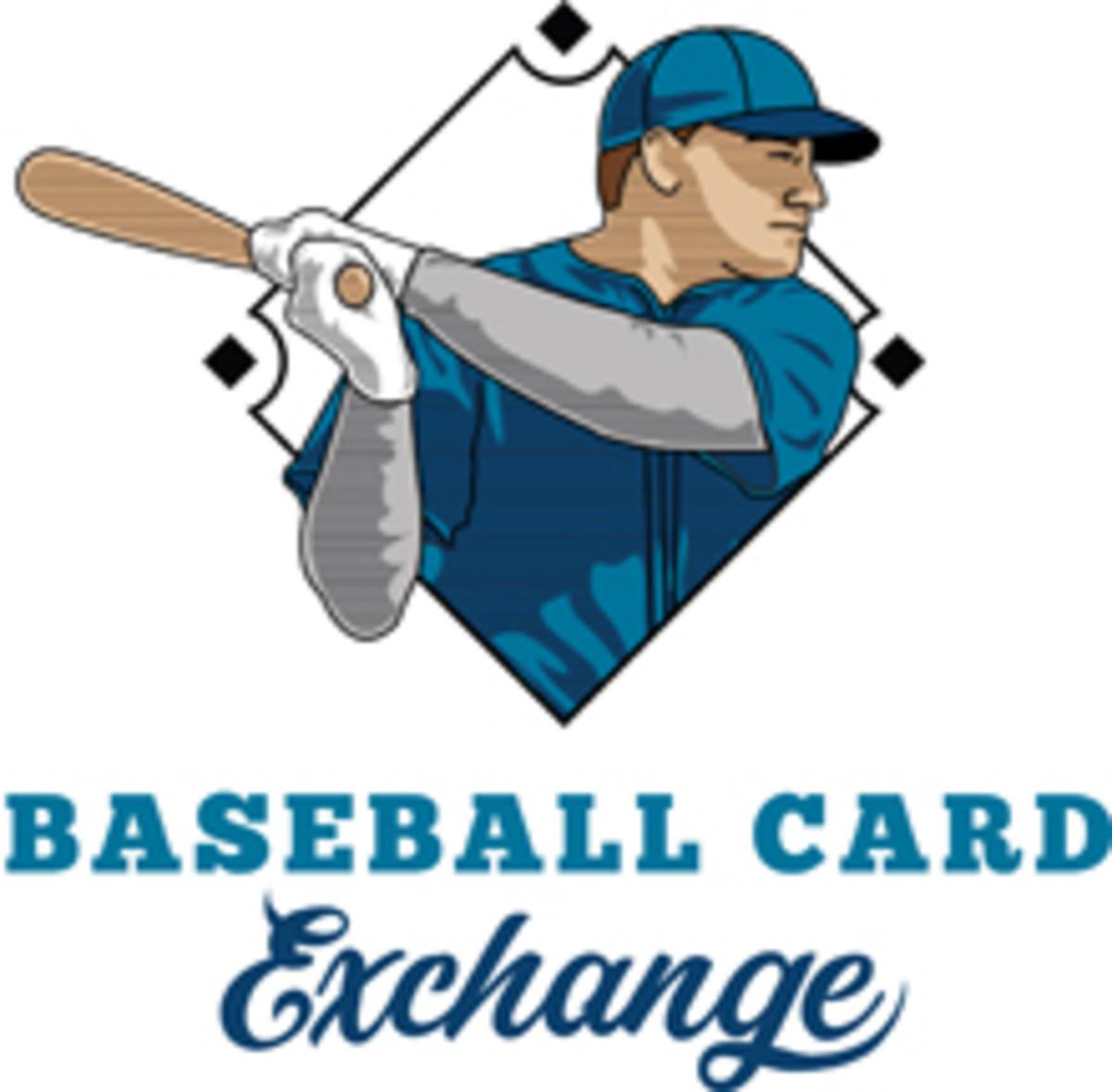 baseball card exchange logo