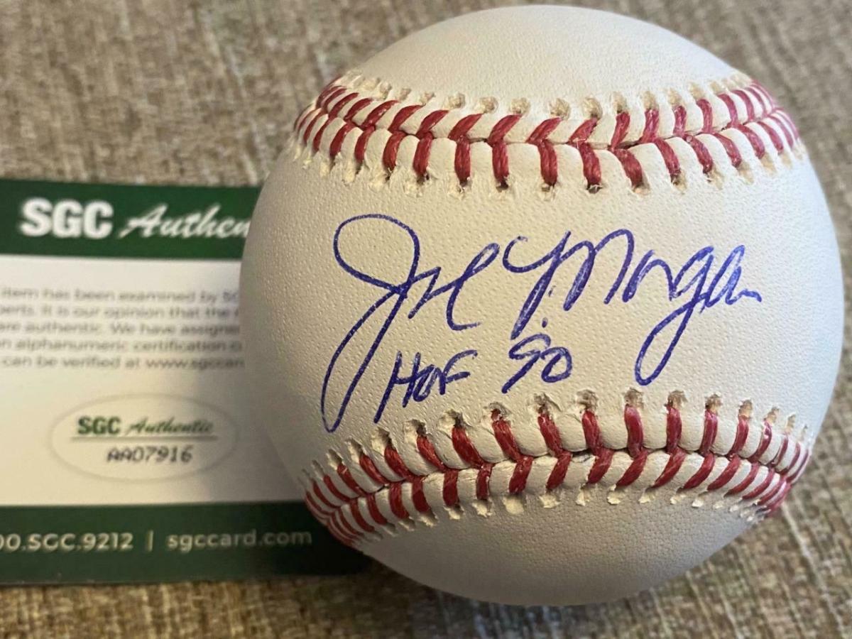 9—oa-joe-morgan-signed-baseball