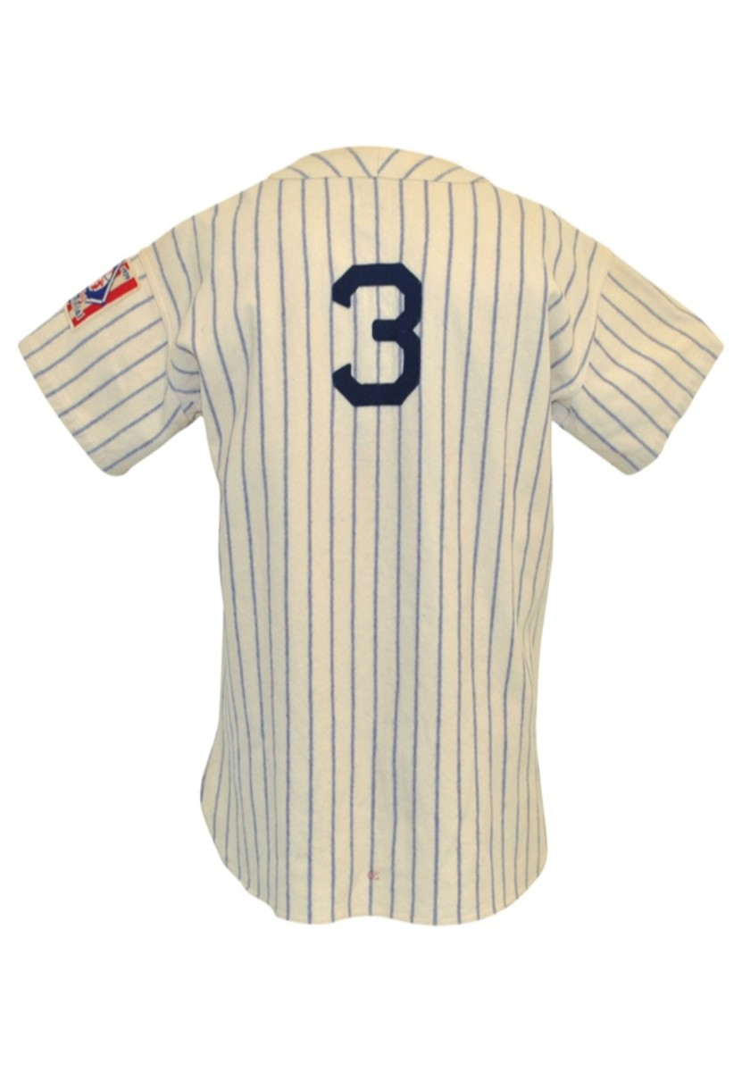 The Yankees jersey Selkirk wore in 1939 sold for $22,796 at auction in 2016. Photo: Grey Flannel Auctions