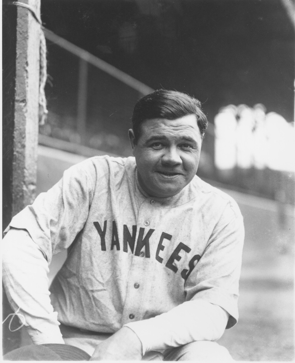 Babe Ruth, 1927. Photo: Louis Van Oeyen/Western Reserve Historical Society/Getty Images