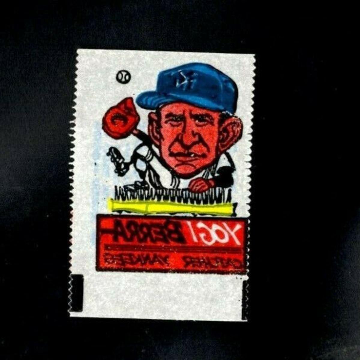 1961 Yogi Berra. Photo: eBay