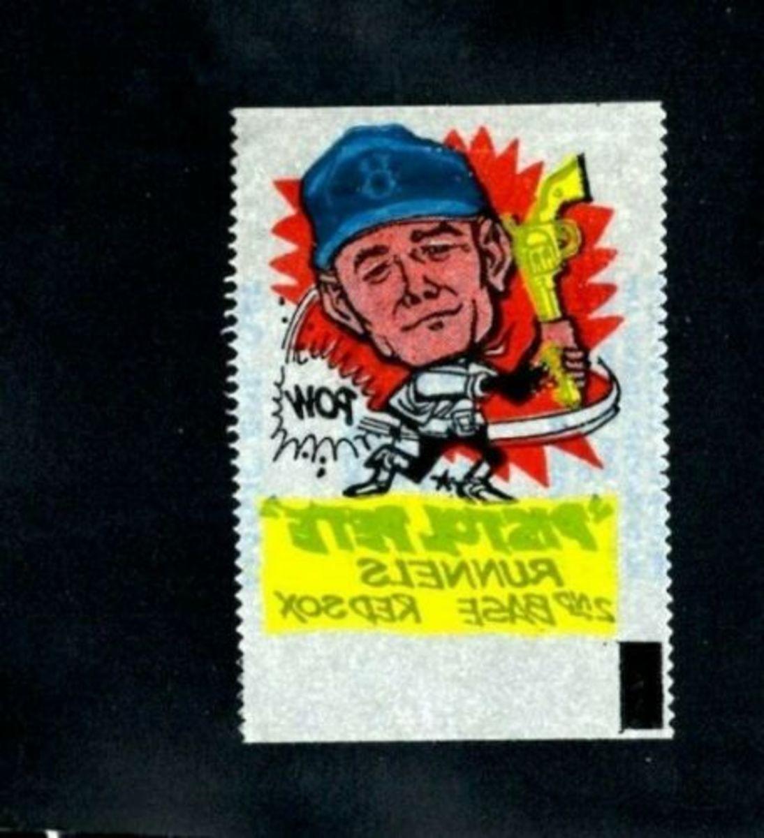 "1961 ""Pistol Pete"" Runnels. Photo: eBay"