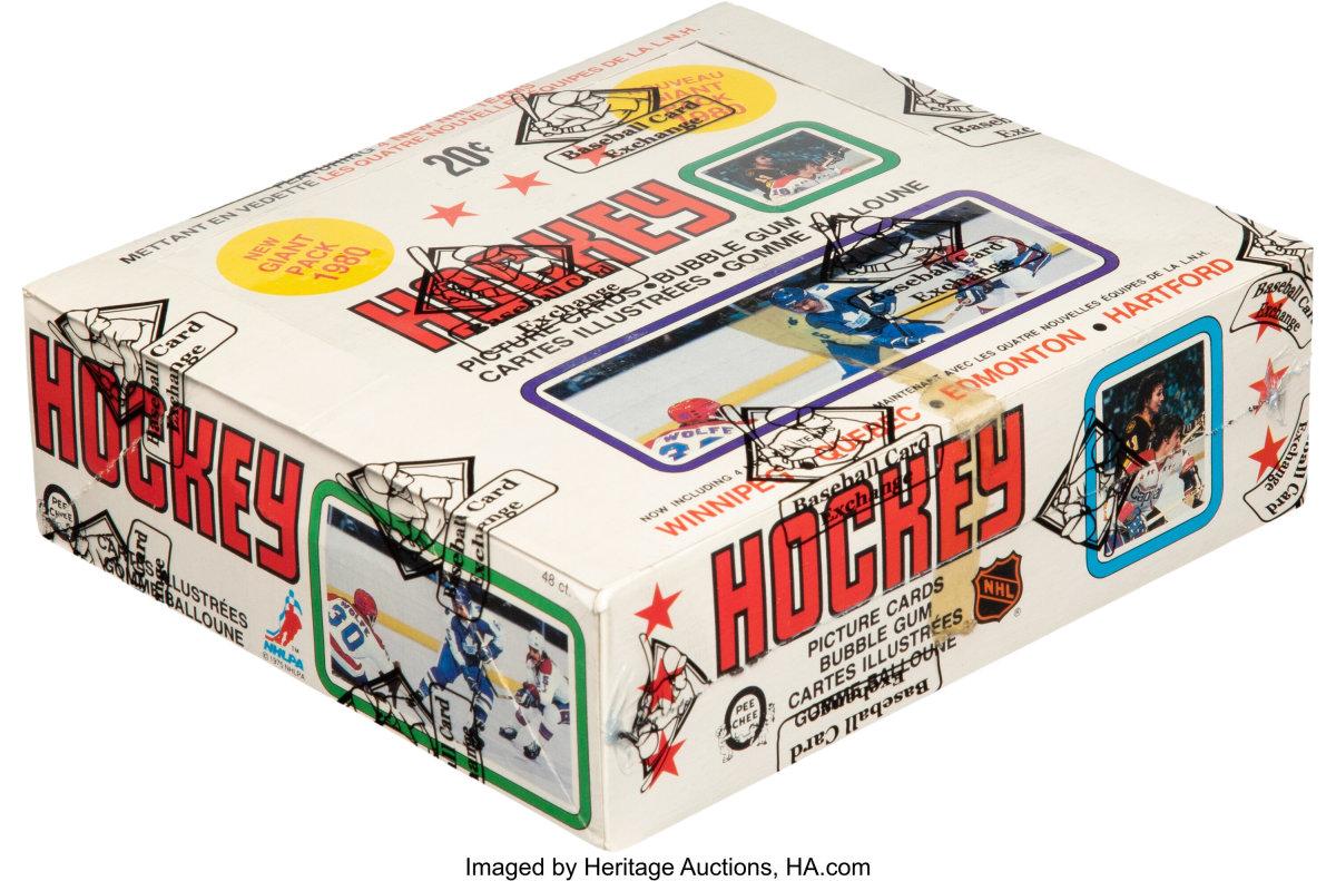 1979-80_O-Pee-Chee_Hockey_Wax_Box_48_Unopened_Packs_Gretzky_Rookie_Heritge_Auctions