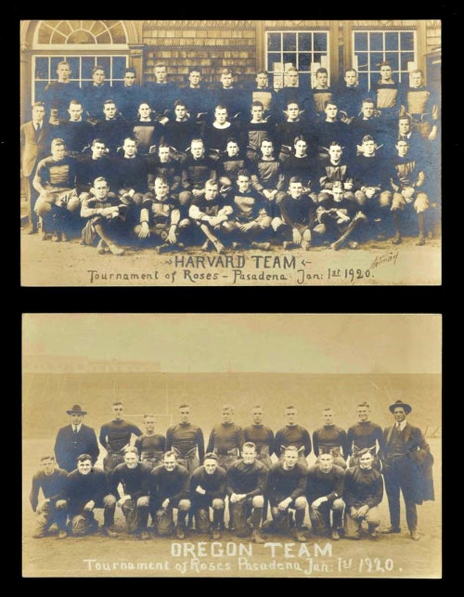 1920 Rose Bowl postcards. Photo: Robert Edward Auctions