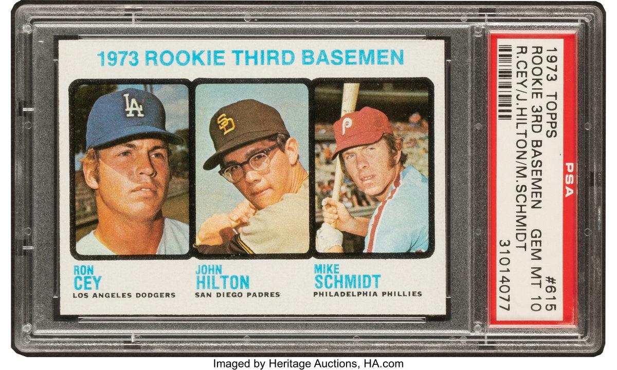1973_Topps_Mike_Schmidt_Rookie_3rd_Basemen_615_PSA_Gem_Mint_10_Pop_Six_Heritage_Auctions