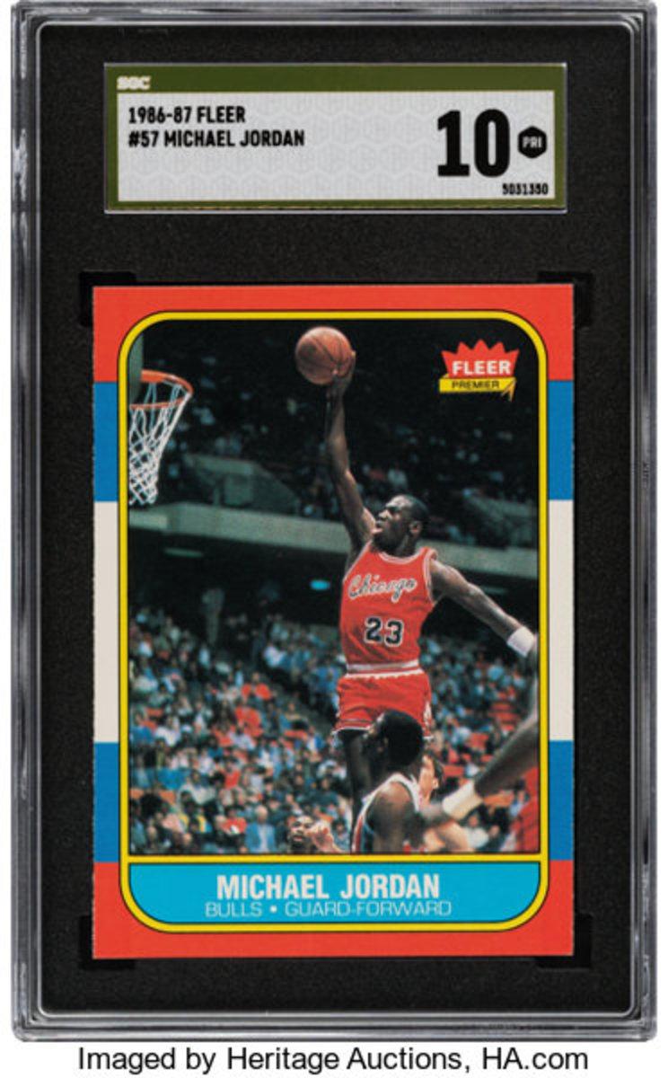 5 1986-87 Fleet Michael Jordan $420K