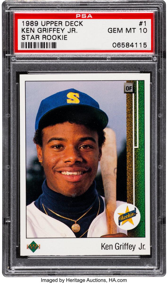1989 Upper Deck Ken Griffey Jr. rookie card.