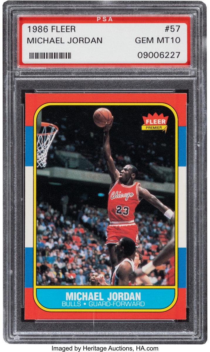 1986_Fleer_Michael_Jordan_57_PSA_Gem_Mint_10_Heritage_Auctions