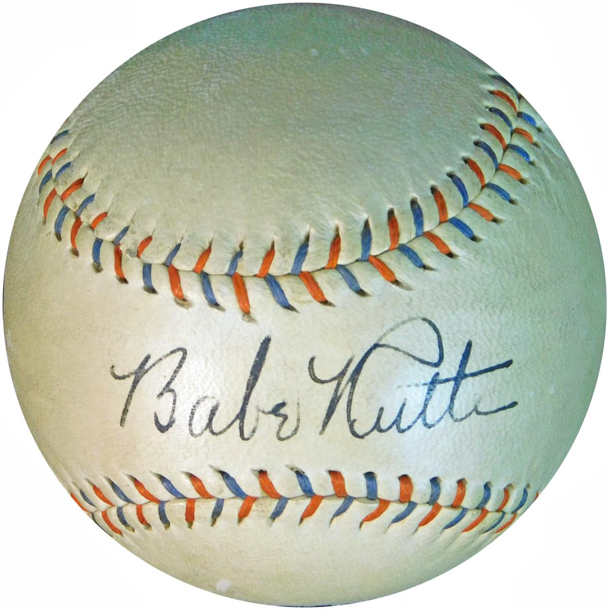 1 ruth ball