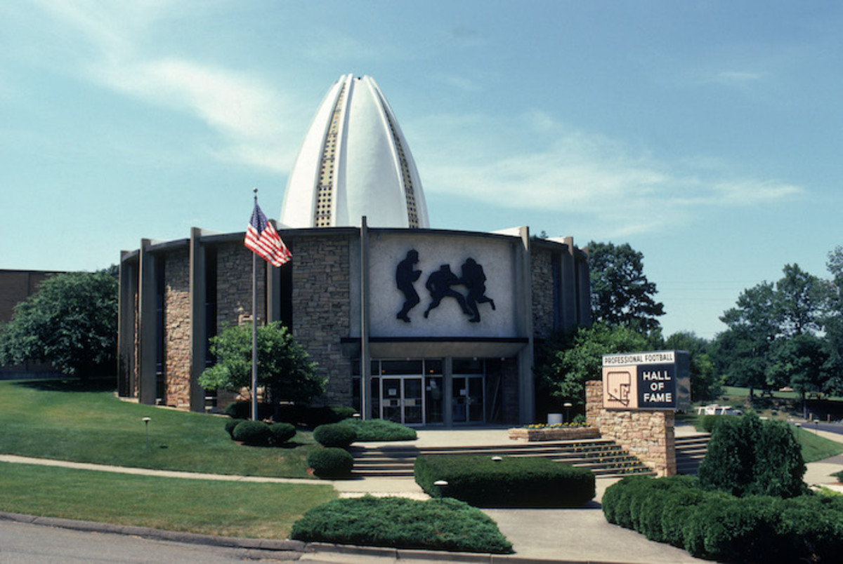 Professional Football Hall of Fame in Canton, Ohio.