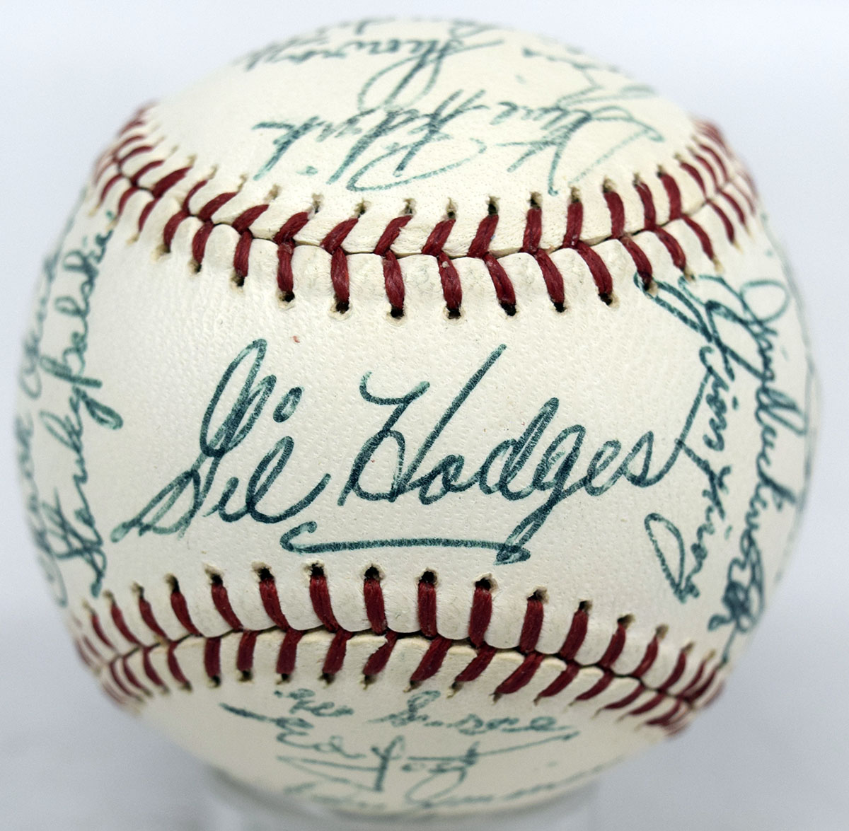 A team ball from the 1964 Washington Senators being offered by Clean Sweep Auctions.