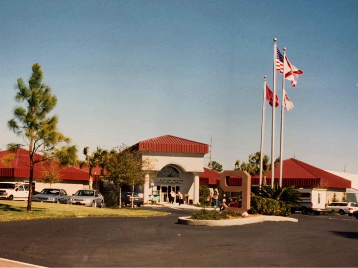 Ted Williams Museum, 1995. Photo Credit: James Fiorentino