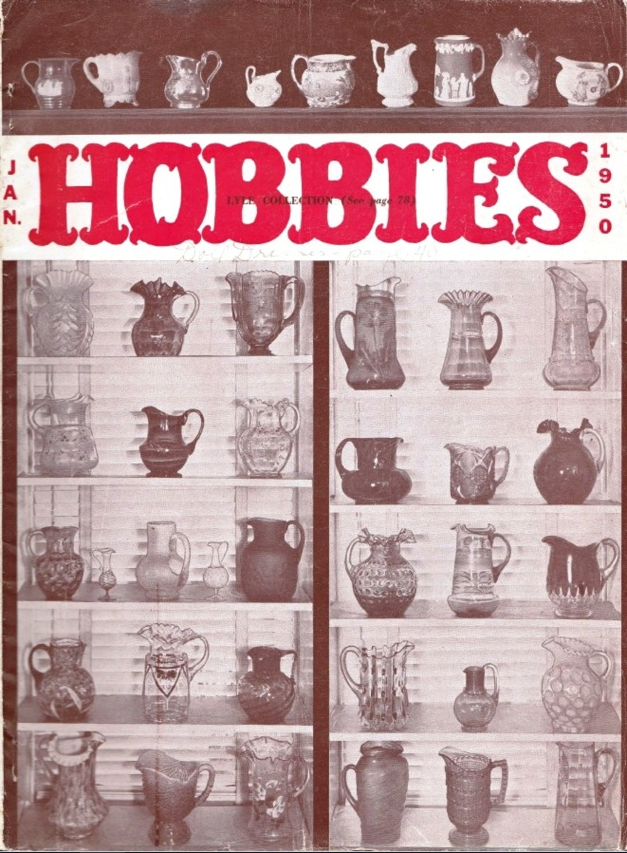 The January 1950 Hobbies introduced the first of eight articles by Burdick – An Outline of American Cards.