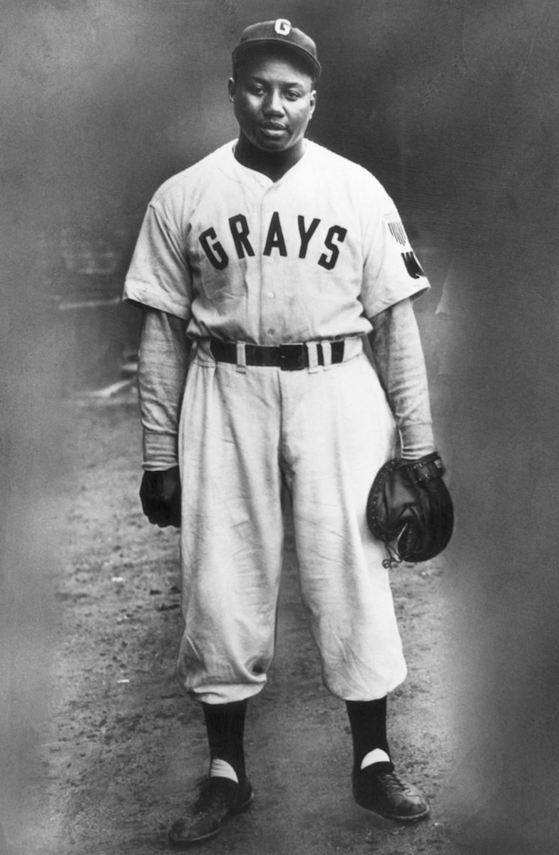 """Josh Gibson of the Homestead Grays was known as the """"Black Babe Ruth"""" for his home run prowess. Photo: Bettmann/Getty Images"""
