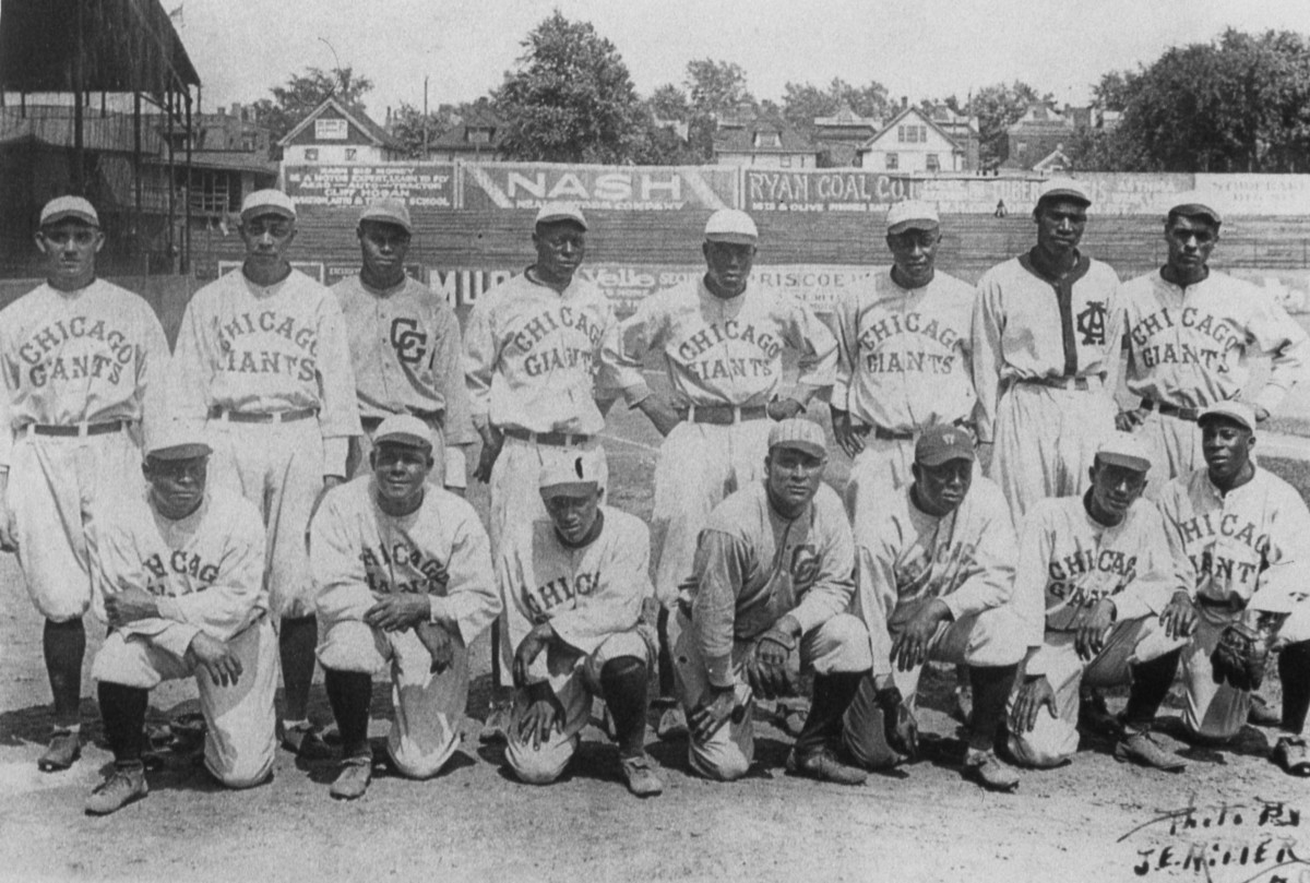 The 1922 Chicago American Giants. Photo: Mark Rucker/Transcendental Graphics, Getty Images