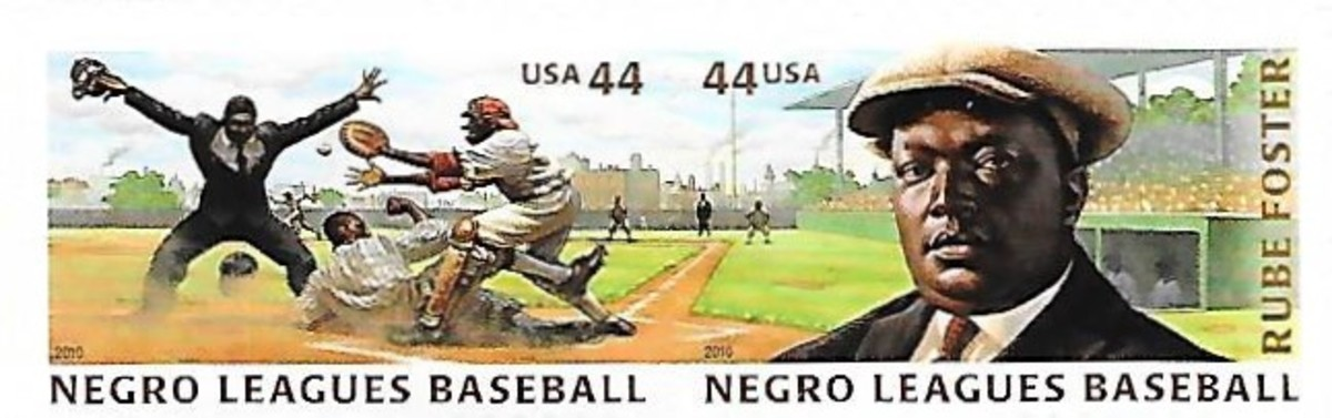 Rube Foster/Negro Leagues game United States Postal Service stamps
