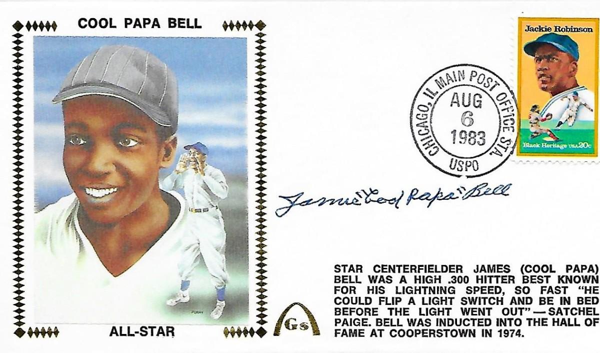 James 'Cool Papa' Bell Gateway envelope