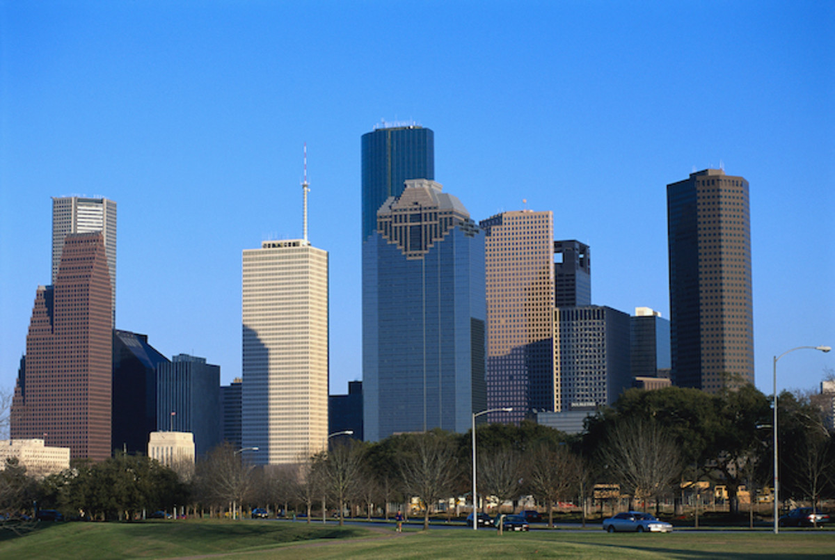 Houston skyline. Photo: Greg Smith/CORBIS/Corbis via Getty Images