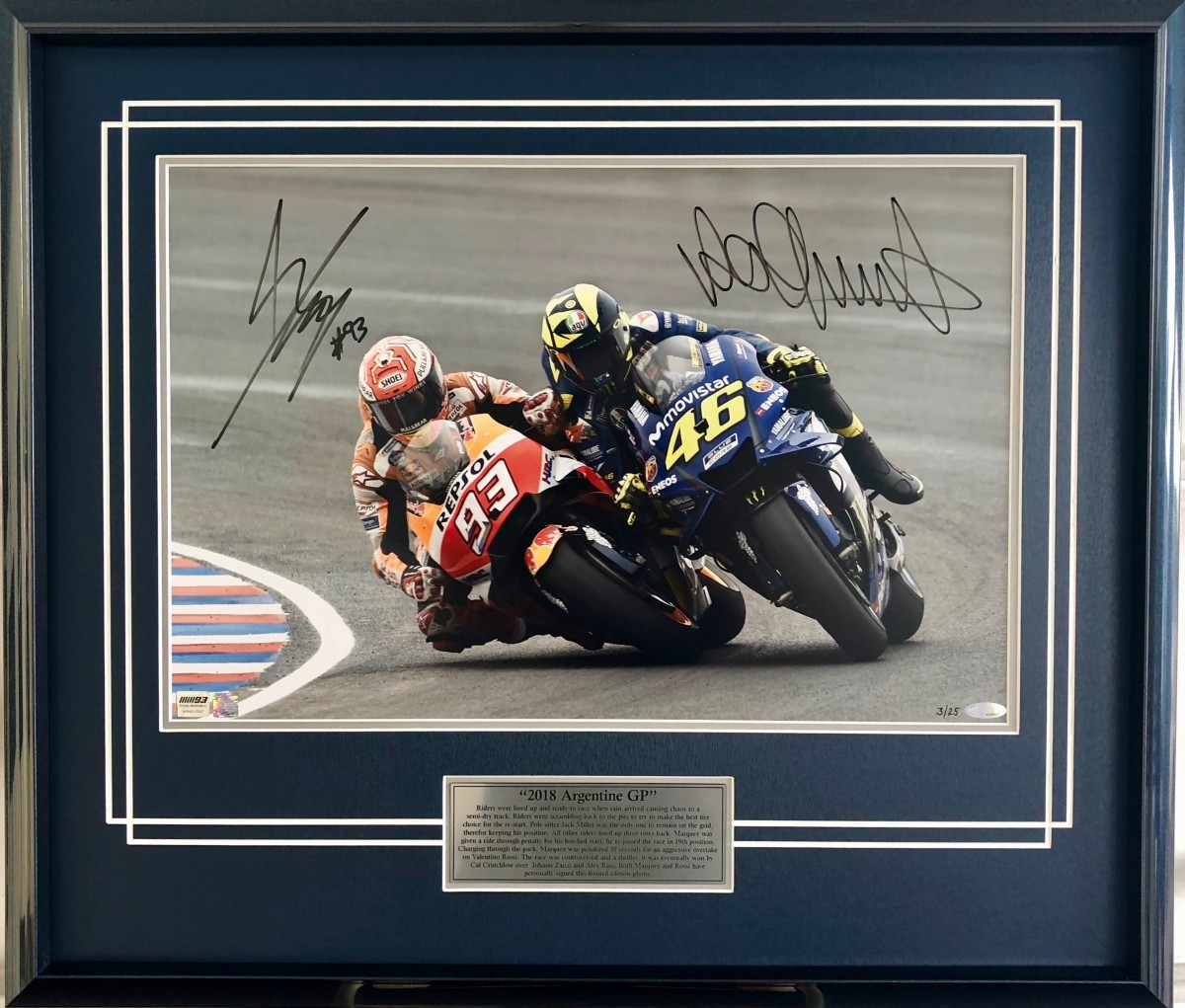 4motoClash of the Titans HR Framed