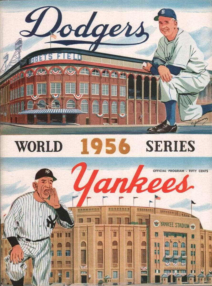 4-oa-1956-world-series-program