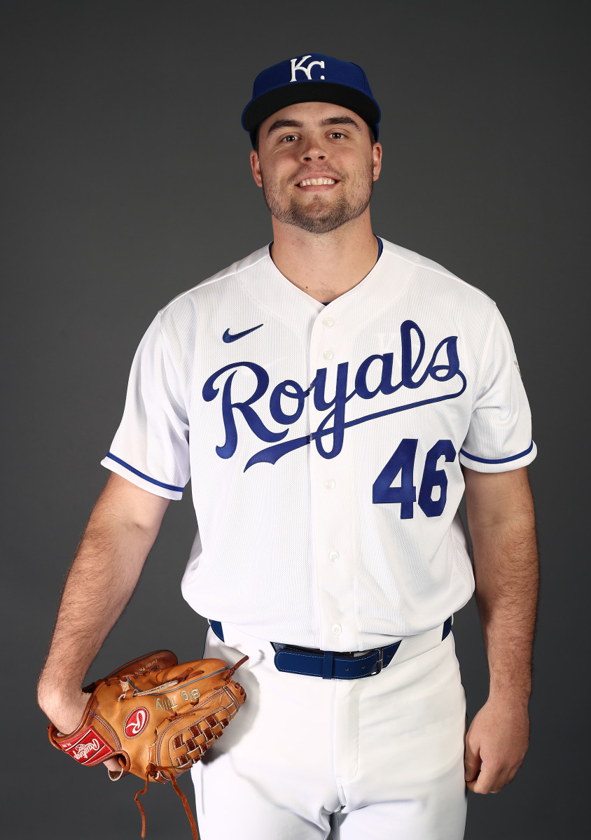 Pitcher Daniel Tillo is a Top 20 prospect of the Kansas City Royals. Photo: Jamie Squire/Getty Images