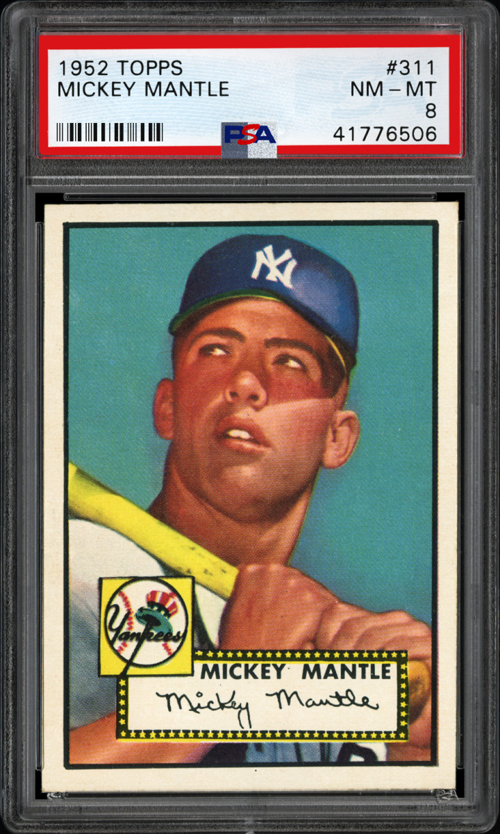 3 PSA 1952 Topps 311 Mickey Mantle NM MT 8 41776506