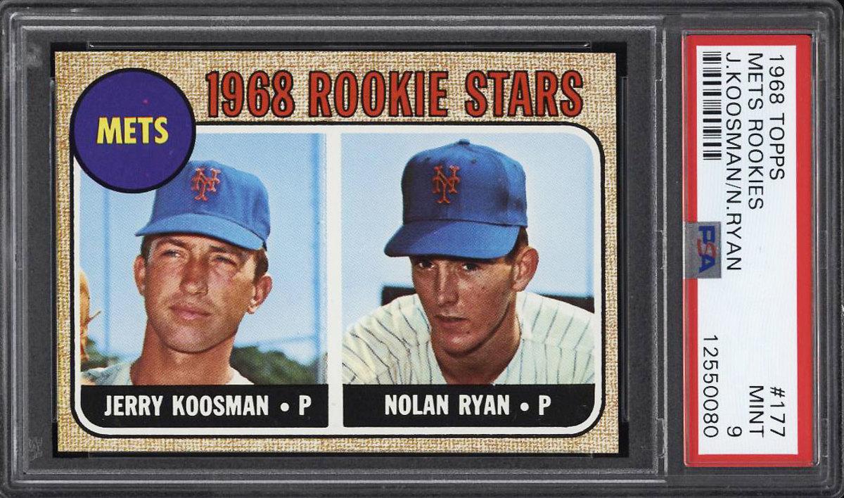 1968 Topps Nolan Ryan rookie card.