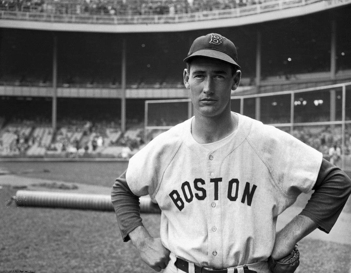 Ted Williams, shown here in 1946, was one of the greatest hitters of all-time, sporting a .344 career average.