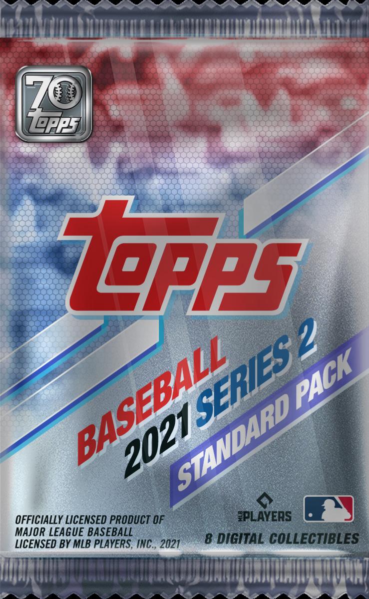 Topps Baseball Series 2 NFT collection standard pack.