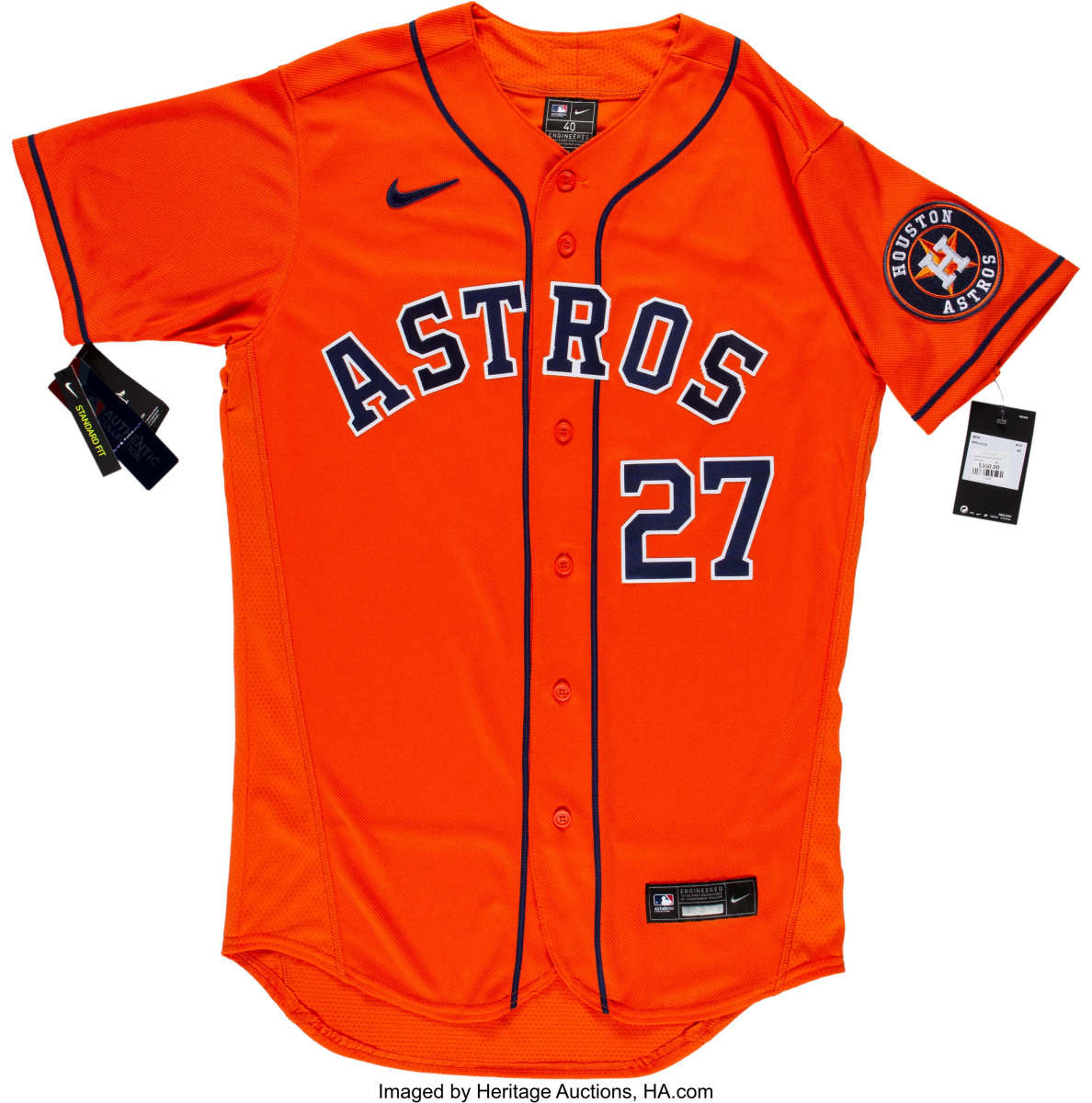 Joe Altuve jersey available in Bid 2 End Cancer Auction.