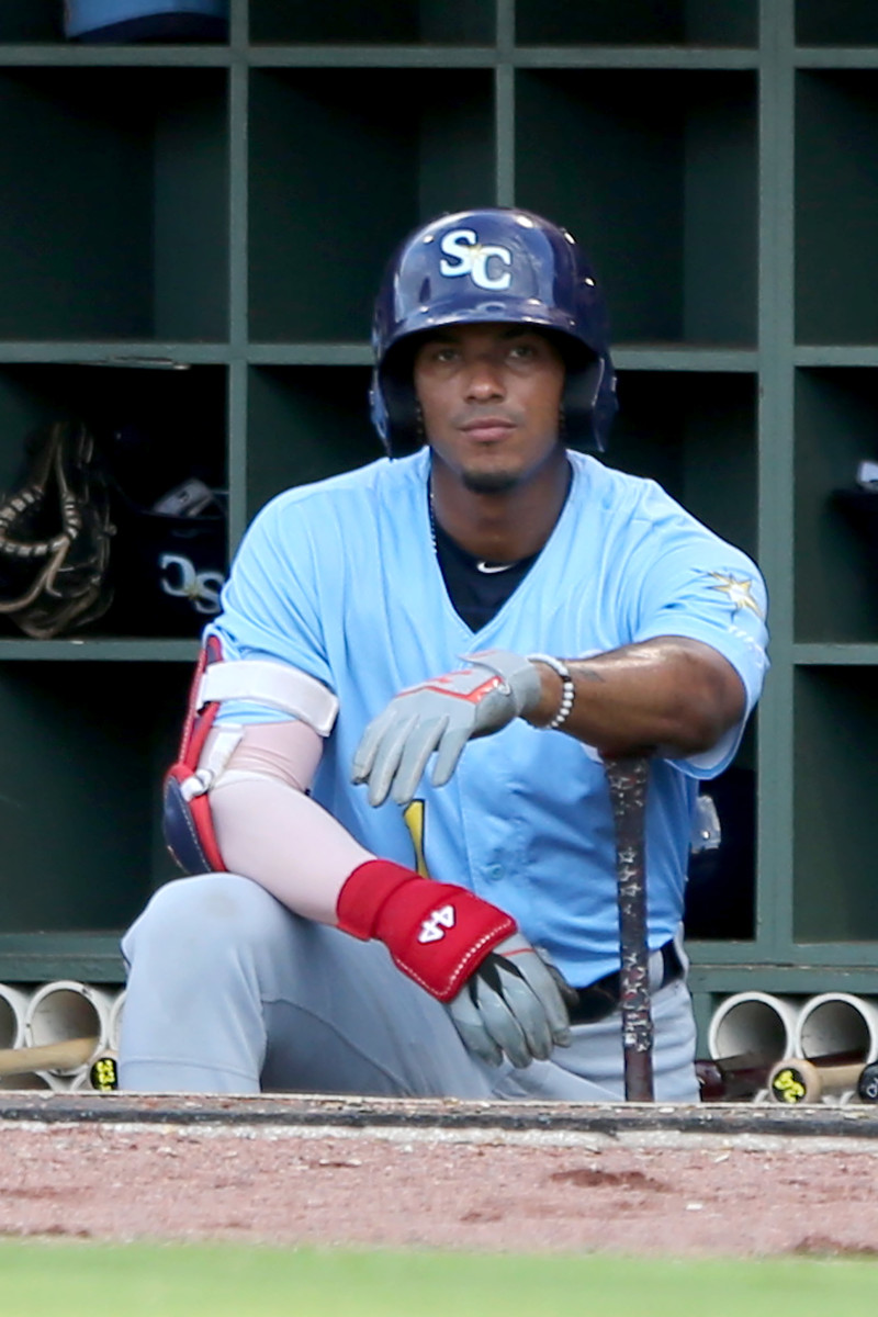 Wander Franco of the Tampa Bay Rays is one of the top prospects in Major League Baseball.