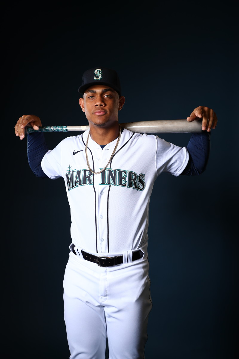 Julio Rodriguez of the Seattle Mariners.