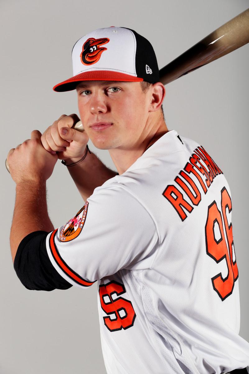 Adley Rutschman of the Baltimore Orioles.