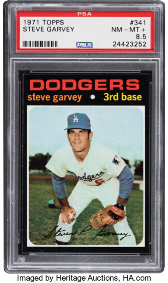 1971 Topps Steve Garvey card.