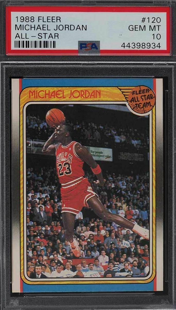 A 1988 Fleer Michael Jordan