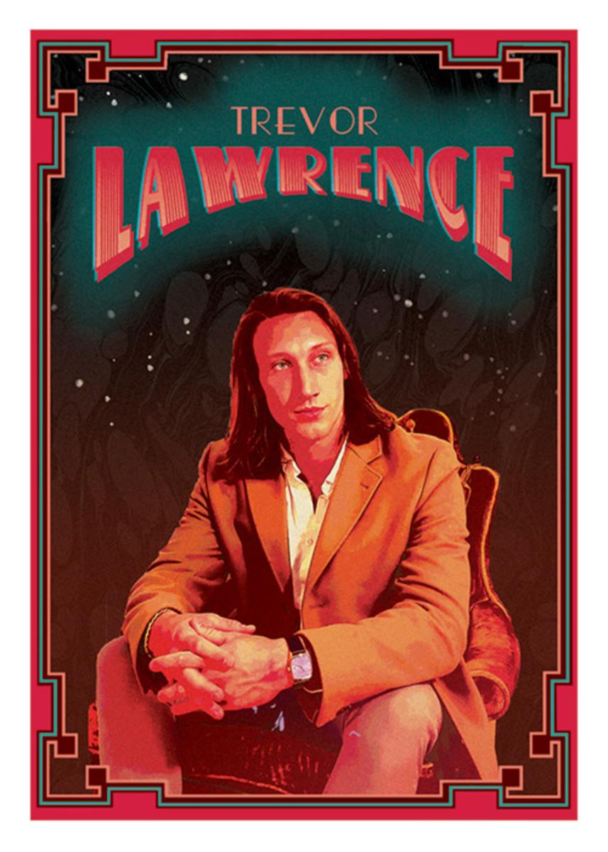 Topps X Trevor Lawrence series.
