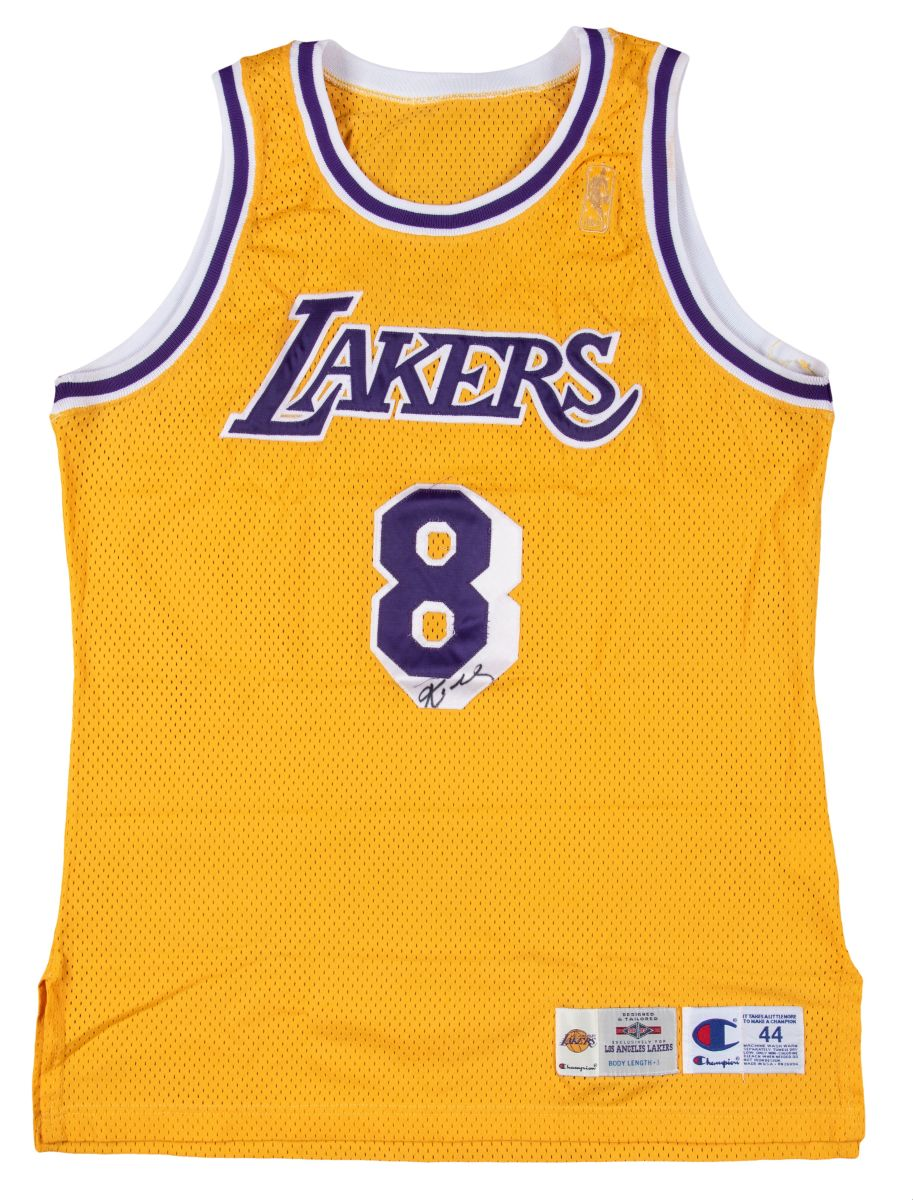 The earliest known game-worn Kobe Bryant rookie jersey is being sold by Goldin Auctions.